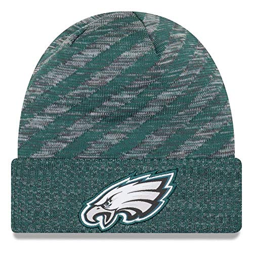 Jungen American Eagle (New Era NFL Sideline 2018 Strick Mütze - Philadelphia Eagles)