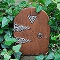 Feen Garten Starter Set Rot mit 2 Spitzköpchen Fliegenpilzen und Feen-Türchen von Gardens2you - Du und dein Garten