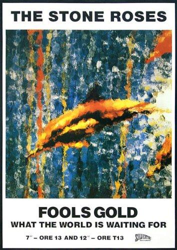 Stone Roses - Fools Gold - 84x59cm - Poster Print