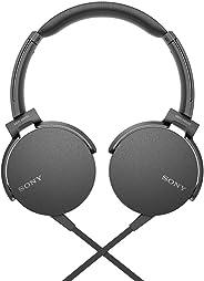 Sony MDRXB550AP/B XB550AP Extra Bass Headphones - Black