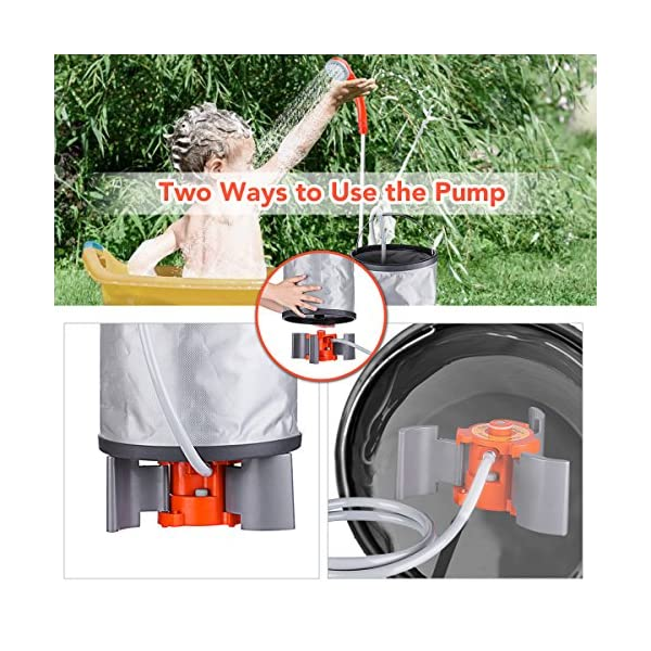 Baban Portable Outdoor Shower 3