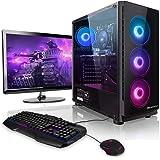 "Pack Gaming - Megaport PC Intel Core i7-10700F • 24"" Full-HD • Teclado y ratón Gaming • GeForce GTX1660 6GB • 480GB SSD • 16G"