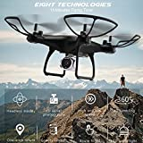 Swiftswan Wifi FPV RC Camera Drone 720P HD Camera, Headless Mode H/L Speed Altitude Hold One-key Return Quadcopter