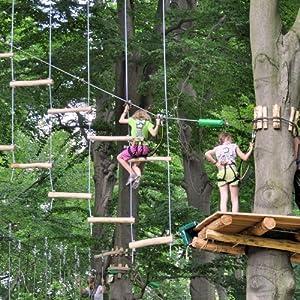 Erlebnisgutschein: Klettern - im Hochseilgarten, Kinder in Utting   meventi Geschenkidee