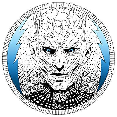 White Walker Frozen King Game of Thrones Sticker | Laptop, Car, Fridge, Wall Art Decal