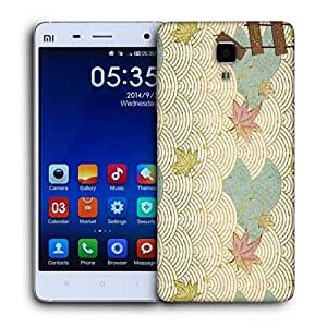 Snoogg Abstract Design Aon Printed Protective Phone Back Case Cover For Xiaomi Mi 4