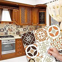 15 azulejos 20x20 cm - PS00052 Pegatinas de PVC para los azulejos para baño y cocina Stickers design - Casablanca