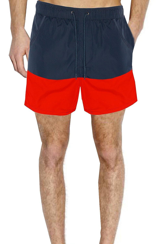 3545c7b80d Swimwear, Surfwear & Wetsuits Swimwear, Surfwear & Wetsuits Mens Brave Soul  Designer Cut And Sew Block Swim Trunks ...