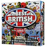 Drumond Park The Best of British Board Game - from the LOGO Board Game Family - The Family Board Game of What Makes Britain British | Family Games For Adults And Kids Suitable From 8+ Years