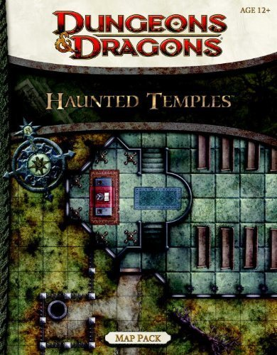 Haunted Temples Map Pack: A 4th Edition Dungeons & Dragons Accessory by Wizards RPG Team (2012) Paperback