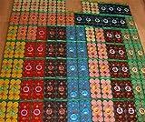 192velas perfumadas, multicolor