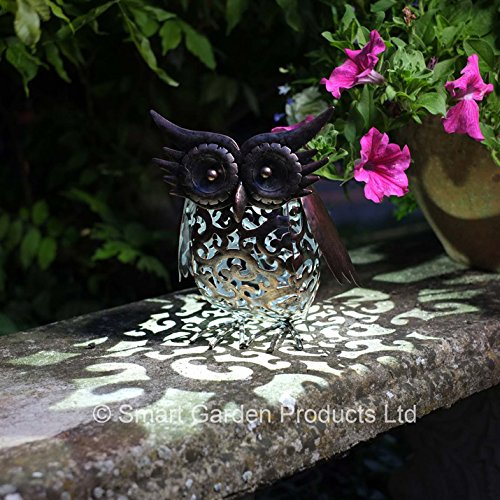 Solar Powered Garden Ornaments Amazon Co Uk