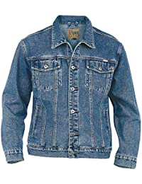 Amazon.fr   Veste en jean - Homme   Vêtements f6fe006028a4