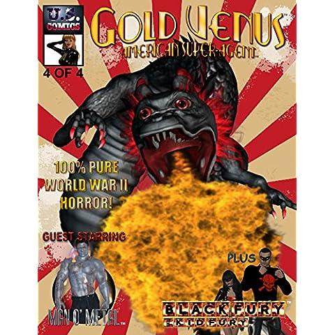 Gold Venus 4: American Super-Agent (English