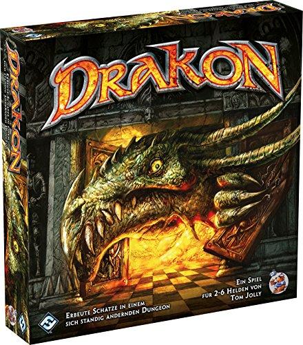 Heidelberger Spieleverlag HE755 - Drakon - 4 Edition Brettspiel, Das Magische Labyrinth