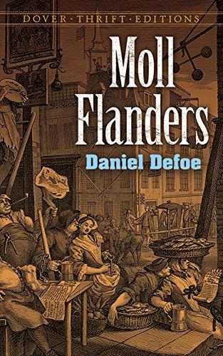 Moll Flanders (Dover Thrift Editions) by Daniel Defoe (1996-07-03)