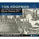 Buxthude : Opera Omnia XV - Musique de chambre 3. Koopman.