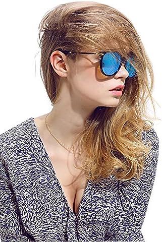 Diamond Candy Lunettes de soleil Pour Femmes Anti-UV Style Nerd