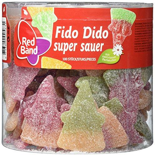 Red Band Fido Dido Super Sauer Dose