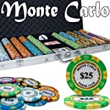 Brybelly Holdings PCS-2605 Pre-Pack - 750 Ct Monte Carlo Chip Set Aluminum Case by Brybelly Holdings