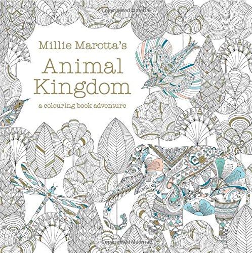 Price comparison product image Millie Marotta's Animal Kingdom - A Colouring Book Adventure