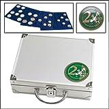 SAFE-ID -  Articles de collectionneurs - Mallette alu avec 6 Plateaux pour 210 Pièces de 2 174...