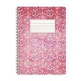 WIREBOOKS Notizbuch | Notizblock | Notizheft | Spiralblock 5031 DIN A5 120 Seiten 100g Papier liniert