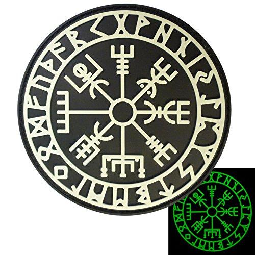 glow-dark-vegvisir-viking-compass-norse-rune-morale-tactical-pvc-gomma-3d-velcro-toppa-patch