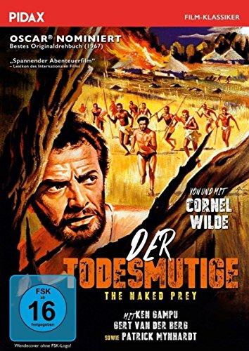 Der Todesmutige (The Naked Prey) / Spannungsgeladener Abenteuerfilm mit Cornel Wilde (Pidax Film-Klassiker)