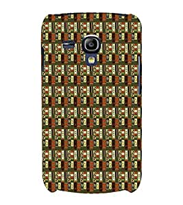 Abstract Painting 3D Hard Polycarbonate Designer Back Case Cover for Samsung Galaxy S3 Mini :: Samsung Galaxy S3 Mini i8190