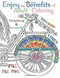 Enjoy the benefits of Adult Coloring: This A4 50 page Adult Coloring Book has a fantastic collection of Mandalas, Animals, Birds, Flowers and Objects ... Motivate and make you Smile: Volume 1