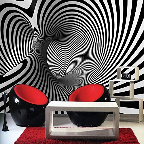 Maß Schwarz Weiß Abstrakt Künstlerischen Hintergrund Modern Sofa Schlafzimmer Wandbild Tapete Wandbild Arcade Anpassen Jede Größe Anpassen 3D 200X140Cm