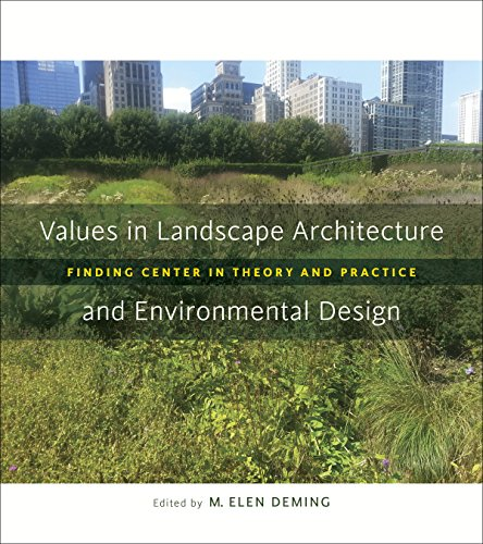 Values in Landscape Architecture and Environmental Design: Finding Center in Theory and Practice (Reading the American Landscape)