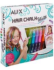 Alex Jouets différents Craie pour Cheveux Salon Kit