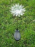 LED Solarleuchte Gartenleuchte Sonnenblume - Gartenstecker Solar Blume Solarleuchte Solarlampe Partyleuchte Dekoration