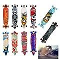 Hengda® Longboard Ridge Street Board Cruiserboard Skateboard Komplettboard ABEC Kugellager