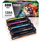 Cool Toner Kompatible für HP 128A Toner für HP Color Laserjet Pro CP1525n CP1525 CM1415 CM1415FN cm 1415 CM1415FNW CP1525NW Farblaserdrucker - Replace CE320A CE321A CE322A CE323A Toner HP Laserjet
