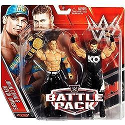 WWE Wrestling Series 39 John Cena & Kevin Owens 6 Action Figure 2-Pack by Wrestling