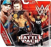 Kevin Owens;John Cena;Includes US Title Belt Accessory!;WWE Battle Packs Toy Wrestling Figures!