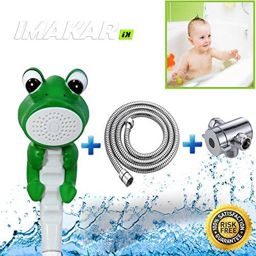 -imakarr-doccia-bambino-kit-completo-con-tubo-adattatore-e-acciaio-inox-doccia-questa-soffione-docci