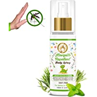 Mom & World Baby Mosquito Repellent Body Spray 100ml - 100% Naturally Derived