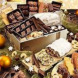 Barbarossa, Box mit Weihnachtsgebäck, Süßigkeiten-Großpackung, inklusive Zimtsterne, Vanillekipferl & Co, Weihnachtsgeschenk, 1 x 2,37 kg