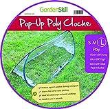 Pack of 3 - Large - 1.5m x 0.6m x 0.6m High - Garden Pop-Up UPVC Mini Greenhouse Poly Cloche Tunnel Bild