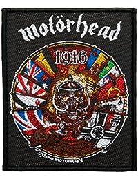 Motörhead parche–1916 Patch–tejida & licencia oficial.