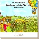 Das Labyrinth im Maisfeld (für Jungen) - ein personalisiertes Kinderbuch mit Ihrem Kind in der Hauptrolle. Individuelles Bilderbuchuch mit personifizierbaren Graphiken für Jungs. Ein Buch zum Entdecken, voll von kreativen Basteleien und dem Traum vom Fliegen. Für abenteuerlustige Kinder im Alter von 4 bis 6 Jahren.