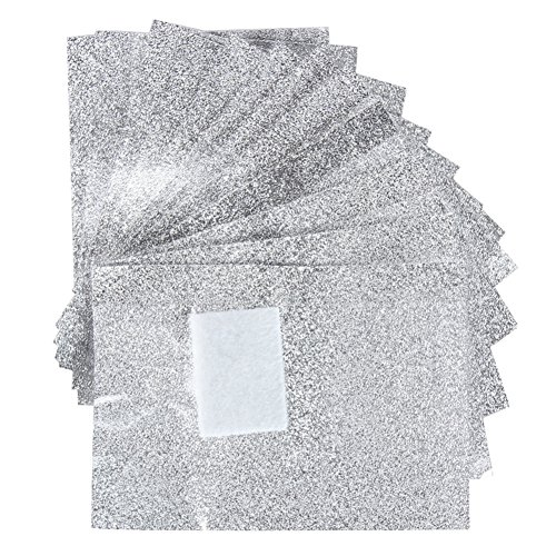 Milopon 100 X Aluminium Folie Nagellackentferner Nagellack Entferner Polish Remover Reiniger Wraps (Aluminium-gelee)