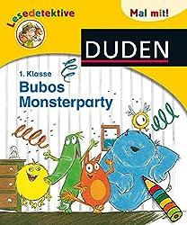 Lesedetektive Mal mit: Bubos Monsterparty, 1. Klasse