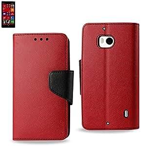 Reiko Wallet Case 3 In 1 For Nokia Lumia 929, Lumia Icon Red