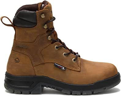 WOLVERINE Ramparts, Uomo, Comp Toe, EH, WP 8 Inch Boot