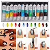 Best Art Alternatives Bandages - Generic Brand NewImported3D 12 Colors Acrylic Nail Art Review